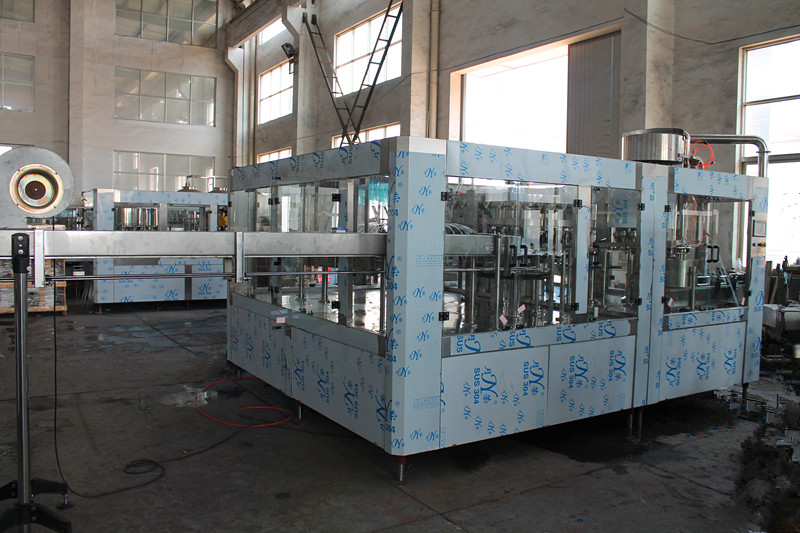 Automatic small PET bottle carbonated beverage filling machine supplier