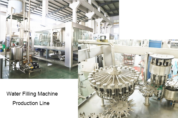 water filling machine production line
