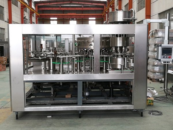 More about Carbonated Beverage Washing-Filling-Capping Machine