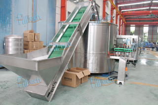 8000BPH plastic bottle unscrambler machine for filling line