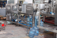 100BPH Barreled Water Filling Machine